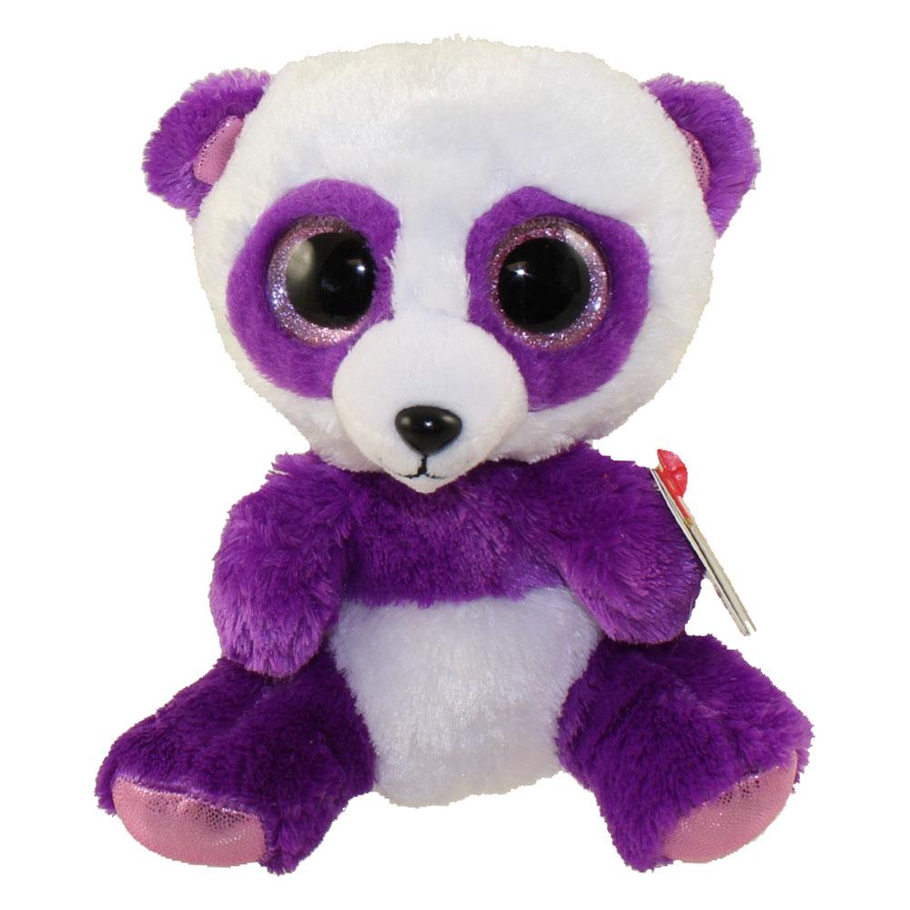fab6abcdcef TY Beanie Boos - BOOM BOOM the Panda (Glitter Eyes) (Regular Size -