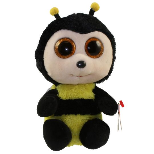 TY Beanie Boos - BUZBY the Bumble Bee (Glitter Eyes) (Regular Size - 6  inch)  BBToyStore.com - Toys 9c0c1dc7f3c6