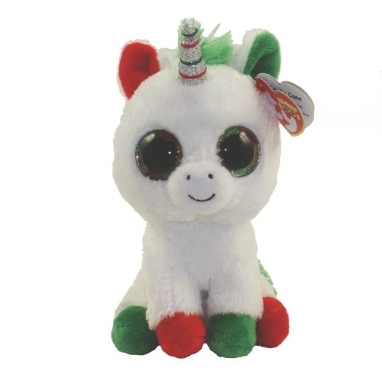 TY Beanie Boos - CANDY CANE the Unicorn (Regular Size - 6 inch)   BBToyStore.com - Toys 41409865a6a