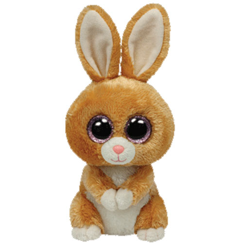 04bdfda3a62 TY Beanie Boos - CARROTS the Tan Rabbit (Glitter Eyes) (Regular Size - 6  inch)  BBToyStore.com - Toys