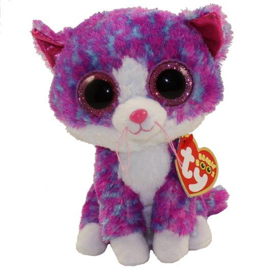 5ec0db98bdd TY Beanie Boos - CHARLOTTE the Cat (Glitter Eyes) (Regular Size - 6 inch)   Limited Exclusive   BBToyStore.com - Toys