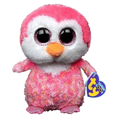 3cf7f0a90fd TY Beanie Boos - CHILLZ the Pink Penguin (Glitter Eyes) (Regular Size - 6  inch)  Limited Exclusive   BBToyStore.com - Toys