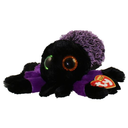 dc76edd8003 TY Beanie Boos - CREEPER the Spider (Glitter Eyes) (Regular Size - 6.5  inch)  BBToyStore.com - Toys