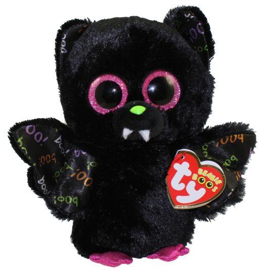 TY Beanie Boos - DART the Bat (Glitter Eyes) (Regular Size - 6 inch)   BBToyStore.com - Toys a1b44eb1abf3