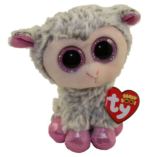 Ty Beanie Boos Dixie The Lamb Glitter Eyes Regular Size 6