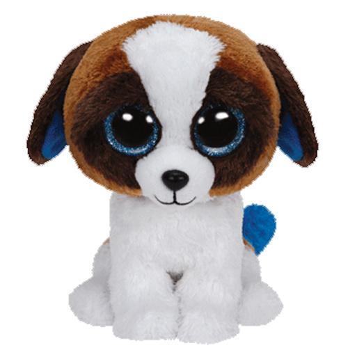 Ty Beanie Boos Duke The St Bernard Dog Glitter Eyes Regular