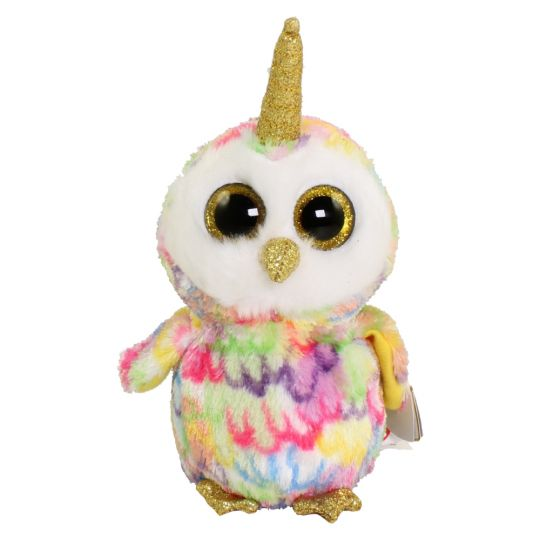 TY Beanie Boos - ENCHANTED the UniOwl (Regular Size - 6 inch)   BBToyStore.com - Toys 93241ce2874b