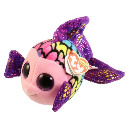 2a39d26be61 TY Beanie Boos - FLIPPY the Fish (Glitter Eyes) (Regular Size - 6 in)   BBToyStore.com - Toys
