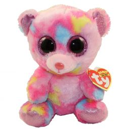 2daad3515ed TY Beanie Boos - FRANKY the Bear (Glitter Eyes) (Regular Size - 6