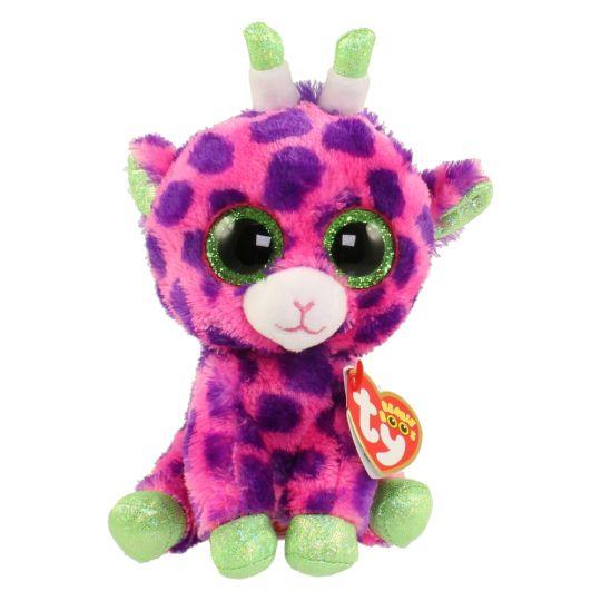 TY Beanie Boos - GILBERT the Pink Giraffe (Glitter Eyes) (Regular Size - 6  in)  BBToyStore.com - Toys 4eb209a53021