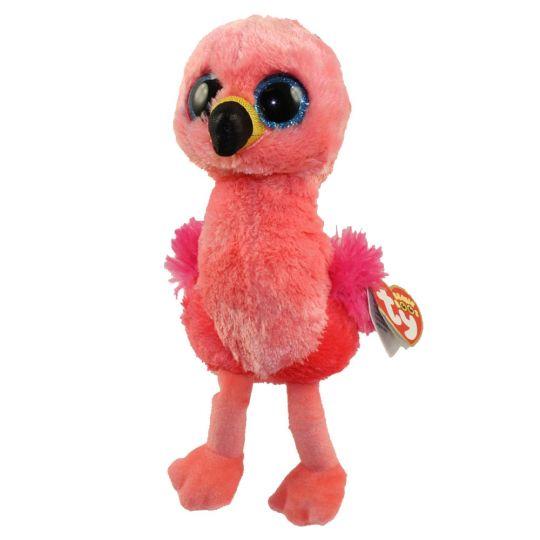 TY Beanie Boos - GILDA the Flamingo (Glitter Eyes) (Regular Size - 6.5  inch)  BBToyStore.com - Toys c6f13963d20
