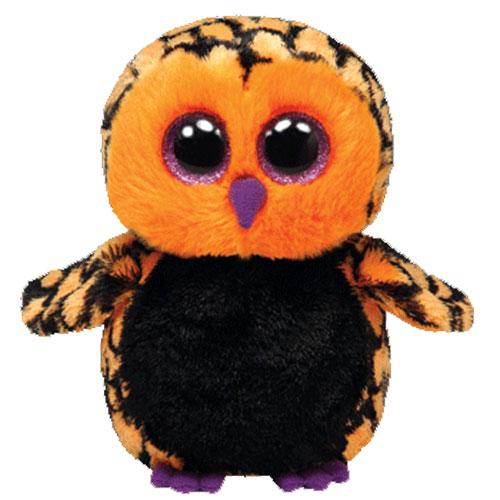 TY Beanie Boos - HAUNT the Owl (Glitter Eyes) (Regular Size - 6 inch)