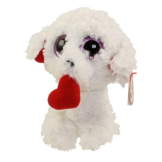 TY Beanie Boos - HONEY BUN the Dog (Glitter Eyes) (Regular Size - 6 inch)   BBToyStore.com - Toys d28fcc6d860