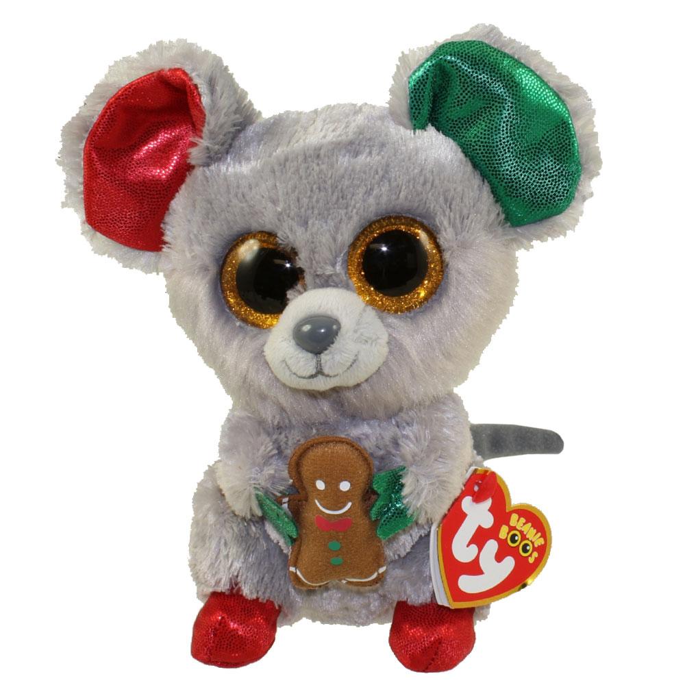 ty beanie boos mac the mouse glitter eyes regular size 6 inch bbtoystorecom  toys plush trading 748b4c6ac3a5