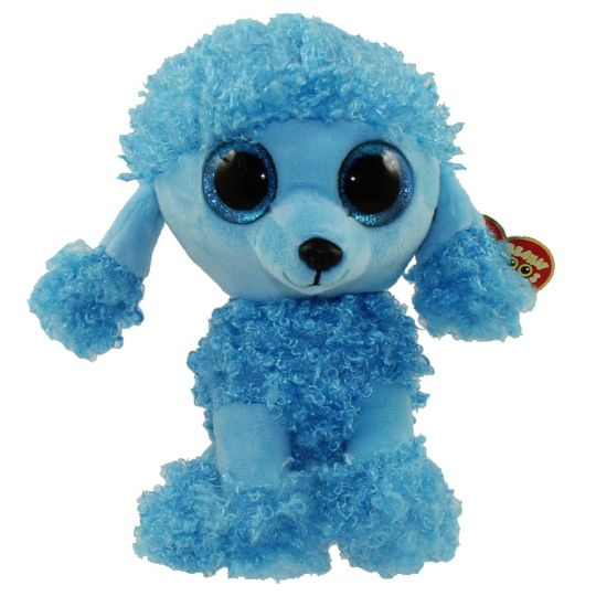 TY Beanie Boos - MANDY the Blue Poodle (Glitter Eyes) (Regular Size - 6.5  inch)  BBToyStore.com - Toys cd34ef6b3d8