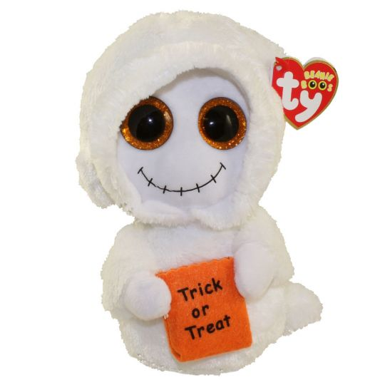 ff1bc4d06f8 TY Beanie Boos - MIST the Ghost (Glitter Eyes) (Regular Size - 6 inch)   BBToyStore.com - Toys