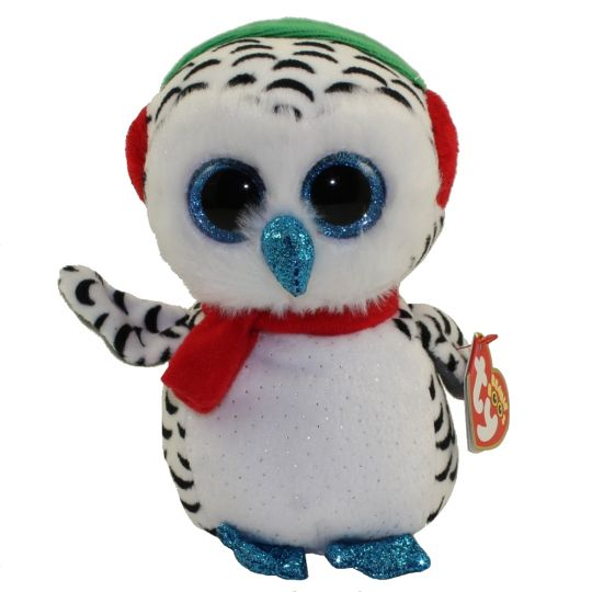 TY Beanie Boos - NESTER the Owl (Regular Size - 6 inch)  BBToyStore.com -  Toys 04d8a211911
