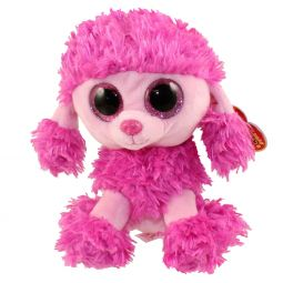 TY Beanie Boos - PATSY the Poodle (Glitter Eyes) (Regular Size - 6 9670c79a5f00