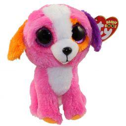 TY Beanie Boos - PRECIOUS the Pink Dog (Glitter Eyes) (Regular Size - b8096cb5d454