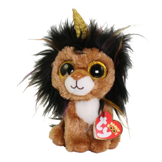 TY Beanie Boos - RAMSEY the UniLion (Regular Size - 6 inch)  BBToyStore.com  - Toys f7a8c83be730