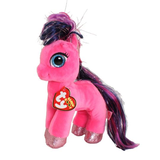 Ty Beanie Boos Ruby The Pink Horse Regular Size 6 Inch
