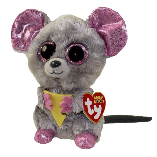 TY Beanie Boos - SQUEAKER the Mouse (Glitter Eyes) (Regular Size - 6 inch)   BBToyStore.com - Toys 61790383c17d