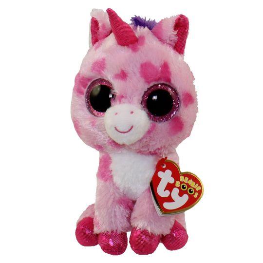 65bda15b945 TY Beanie Boos - SUGAR PIE the Pink Unicorn (Glitter Eyes) (Regular - 6  inch)  BBToyStore.com - Toys