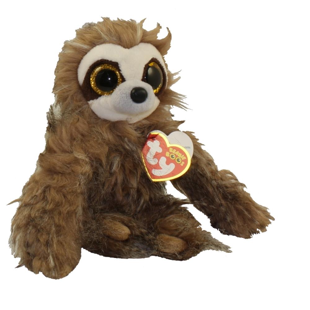 TY Beanie Boos Sully Sloth Glitter Eyes Medium 10 inch