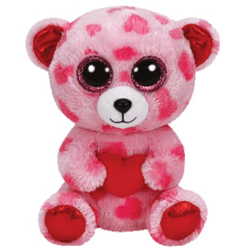 Ty Beanie Boos Sweetikins The Bear Glitter Eyes Regular Size 6 Inch Bbtoystore Com
