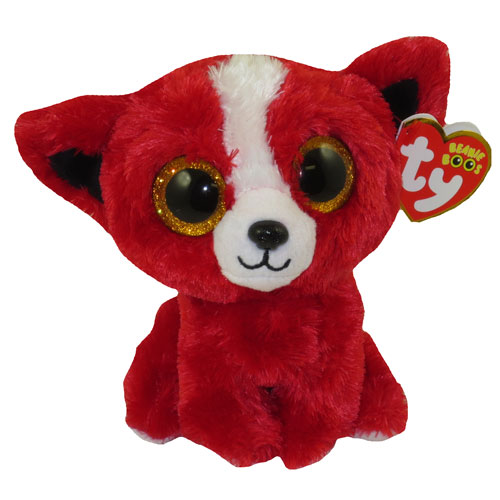 TY Beanie Boos - TOMATO the Red Dog (Glitter Eyes) (Tradeshow Exclusive)  (Regular Size - 5 inch)  BBToyStore.com - Toys 1dd73dbed30