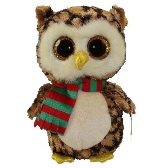 TY Beanie Boos - WISE the Owl (Glitter Eyes) (Regular Size - 6 inch)   BBToyStore.com - Toys 5b2541c363c