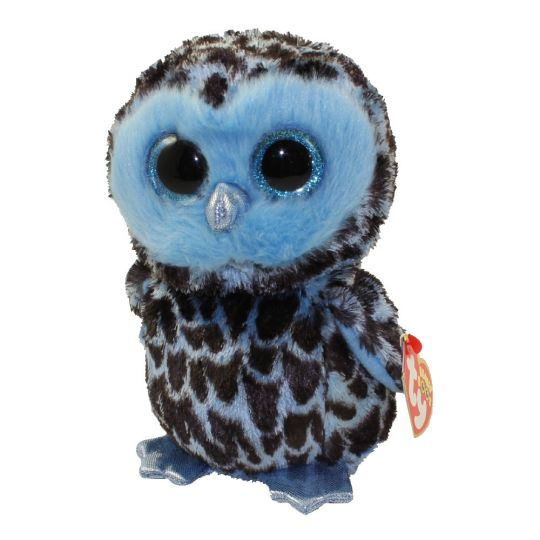 TY Beanie Boos - YAGO the Owl (Glitter Eyes) (Regular Size - 6 inch)   BBToyStore.com - Toys d0d7e99d18bc