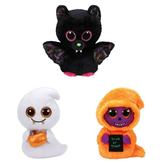 TY Beanie Boos - SET of 3 Halloween 2017 Releases (Medium - 9 inch) (Dart 20f3ad40f71