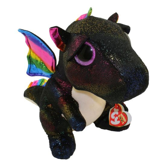 TY Beanie Boos - ANORA the Dragon (Glitter Eyes) (Medium Size - 9 in)   BBToyStore.com - Toys 7ed12503253
