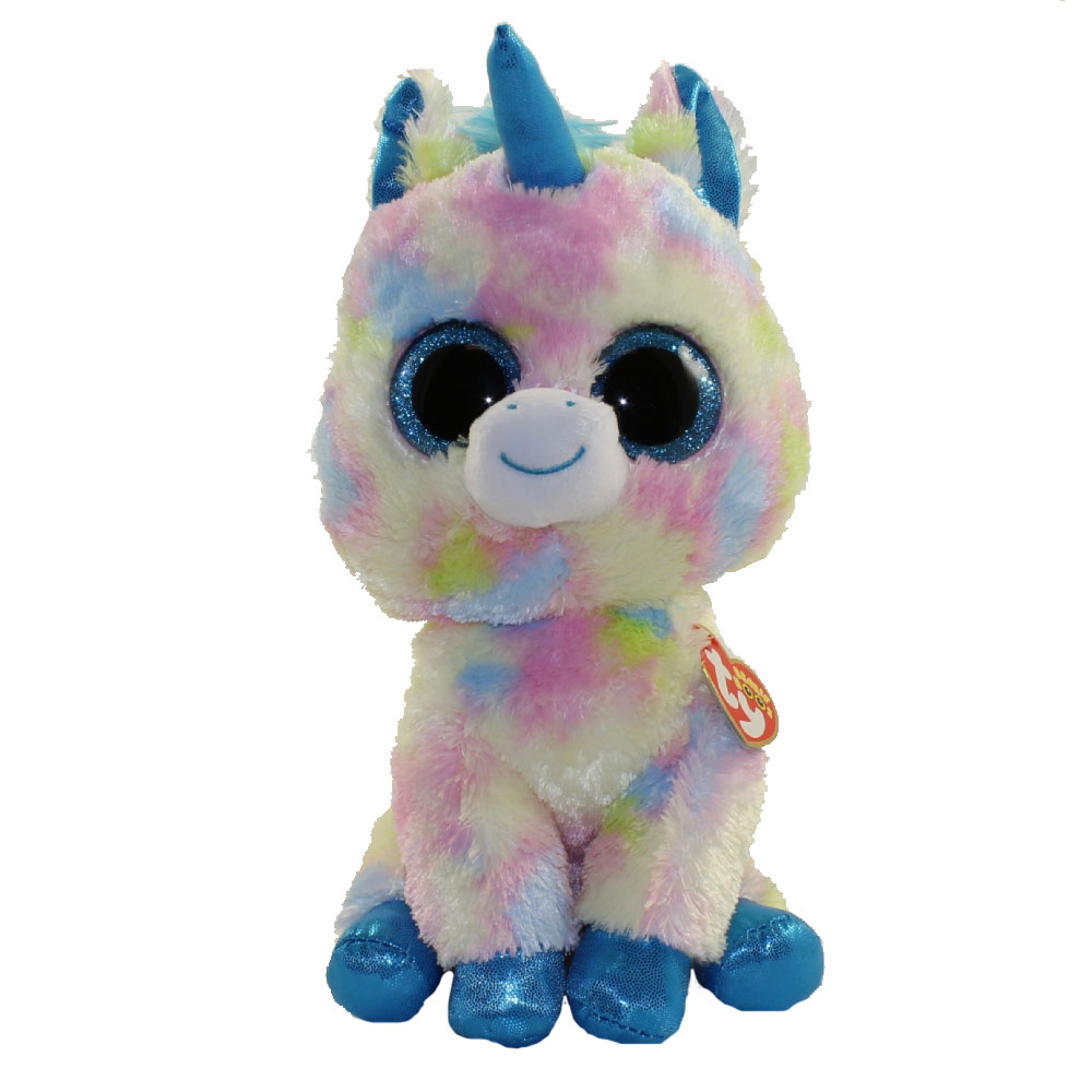 TY Beanie Boos - BLITZ the Unicorn (Glitter Eyes) (Medium Size - 9 3156f6b811f0