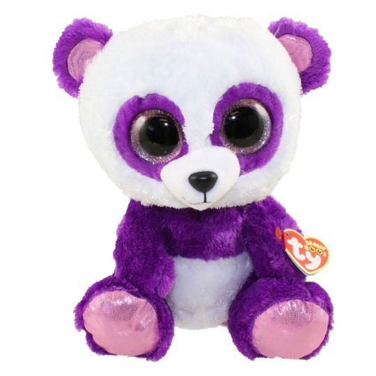 TY Beanie Boos - BOOM BOOM the Panda (Glitter Eyes) (Medium Size - 9 inch)   BBToyStore.com - Toys 0a7ca2f7ac90