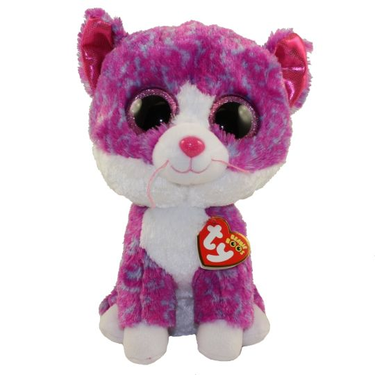 f3f4ac93eef TY Beanie Boos - CHARLOTTE the Cat (Glitter Eyes)(Medium Size - 9 inch)   Limited Exclusive   BBToyStore.com - Toys