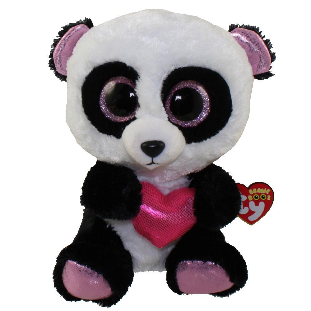 093ccf0008c TY Beanie Boos - CUTIE PIE the Panda (Glitter Eyes) (Medium Size -