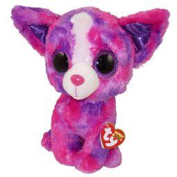 TY Beanie Boos - DAKOTA the Chihuahua (Glitter Eyes)(Medium Size - 9 5b1360caa45b