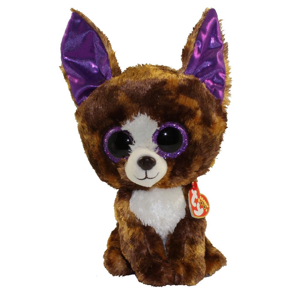 TY Beanie Boos - DEXTER the Dog (Glitter Eyes) (Medium Size - 9 9249e5e20e38