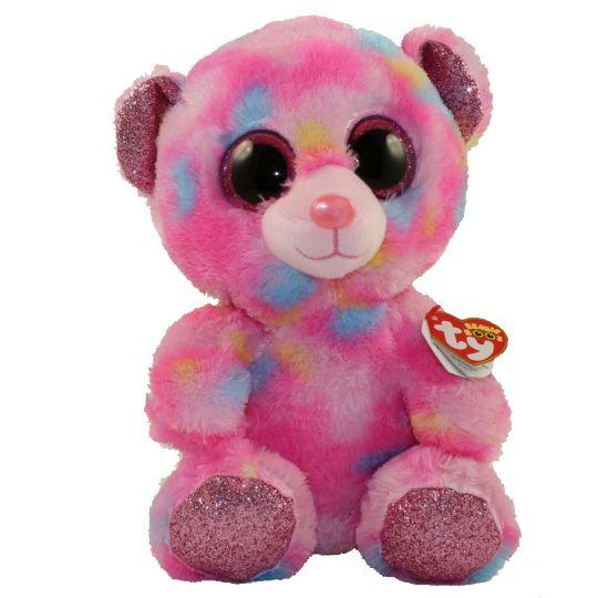 c2b45fa3f0c TY Beanie Boos - FRANKY the Bear (Glitter Eyes) (Medium Size - 9 inch)   BBToyStore.com - Toys