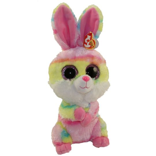 TY Beanie Boos - LOLLIPOP the Bunny (Glitter Eyes) (Medium Size - 9 inch)   BBToyStore.com - Toys ea05e6fa79c