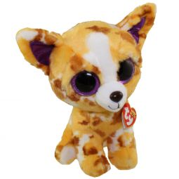 3a958a200cd TY Beanie Boos - PABLO the Patchy Orange (Glitter Eyes) (Medium Size -
