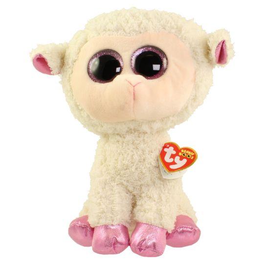 600b9676f7a TY Beanie Boos - TWINKLE the Lamb (Glitter Eyes) (Medium Size - 9 inch)   BBToyStore.com - Toys