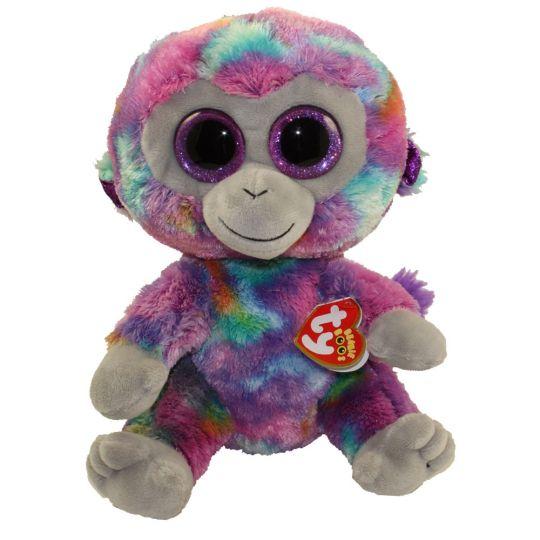 8cd745322c5 TY Beanie Boos - ZURI the Monkey (Glitter Eyes) (Medium Size - 9 inch)   BBToyStore.com - Toys