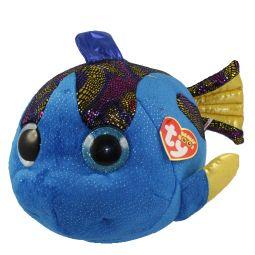 f225de4dbfc TY Beanie Boos - AQUA the Fish (Glitter Eyes) (LARGE Size - 20