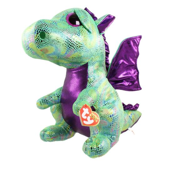 b445dc507cb TY Beanie Boos - CINDER the Dragon (LARGE Size - 17 inch)  BBToyStore.com -  Toys