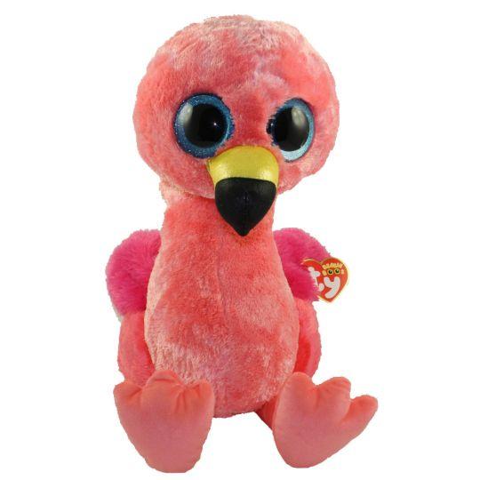 TY Beanie Boos - GILDA the Flamingo (LARGE Size - 17 inch)  BBToyStore.com  - Toys a68837353cd
