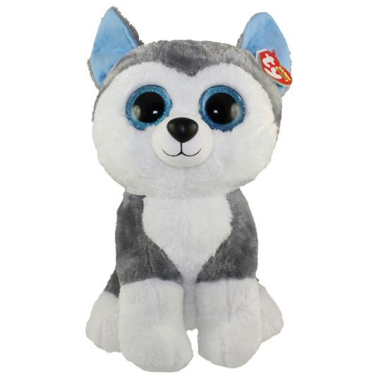 TY Beanie Boos - SLUSH the Husky (LARGE Size - 17 inch)  BBToyStore.com -  Toys 09e7dc2a294