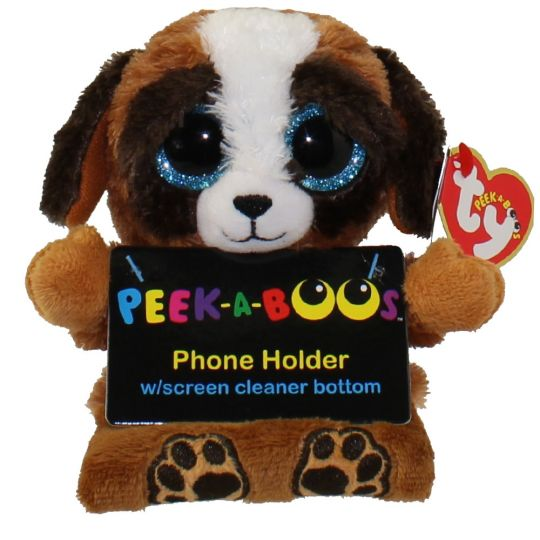 TY Beanie Boos - Peek-A-Boos - PUPS the Dog (4 inch - Phone Holder ... 25640375245e